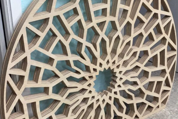 Rótulos de madera en Sevilla